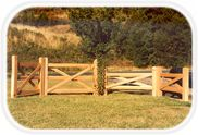 Cedar Split Rail Fence - HOOVER FENCE CO. Split rail fences are a