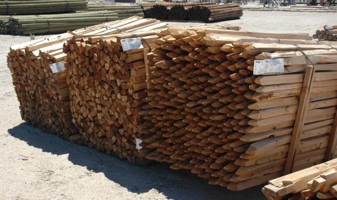 Split Cedar | C&R Forest Products, California Wholesale